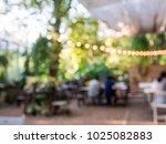 blurred background of outdoor...   Shutterstock . vector #1025082883