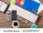 items for business and... | Shutterstock . vector #1025094547