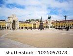 commerce square  praca do... | Shutterstock . vector #1025097073