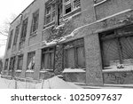 abandoned building of the... | Shutterstock . vector #1025097637