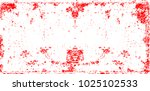 grunge post stamps collection ... | Shutterstock .eps vector #1025102533