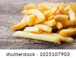 close up view of heap of french ... | Shutterstock . vector #1025107903