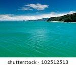 Постер, плакат: Turquoise waters of Cook