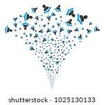 reader festive fountain. vector ... | Shutterstock .eps vector #1025130133