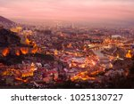 Sunset View Of Old Tbilisi  ...