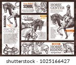 collection of monochrome vector ... | Shutterstock .eps vector #1025166427