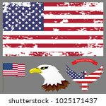 abstract image of the american...   Shutterstock .eps vector #1025171437