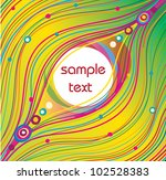 abstract vector background with ... | Shutterstock .eps vector #102528383