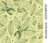 raster seamless floral pattern... | Shutterstock . vector #102528953