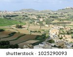 landscape of terraced fields at ... | Shutterstock . vector #1025290093
