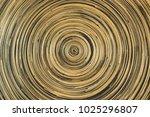 circular bamboo texture for... | Shutterstock . vector #1025296807