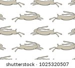 vector seamless pattern with... | Shutterstock .eps vector #1025320507
