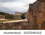uxmal  mexico   january 30 ... | Shutterstock . vector #1025346163