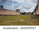 chichen itza  mexico   january... | Shutterstock . vector #1025349517