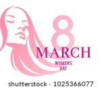 international women's day. 8... | Shutterstock .eps vector #1025366077