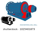 raw material ball mill ...