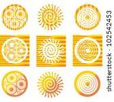 solar symbols.
