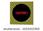 border yellow and black color... | Shutterstock .eps vector #1025431903