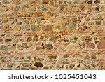 Detail Of Ancient Brick Wall...