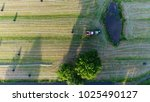 Aerial Photo Of Tractor Pullin...