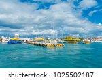isla mujeres  mexico  january...   Shutterstock . vector #1025502187