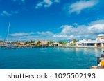 isla mujeres  mexico  january...   Shutterstock . vector #1025502193