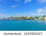 isla mujeres  mexico  january...   Shutterstock . vector #1025502217