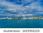 isla mujeres  mexico  january... | Shutterstock . vector #1025502223