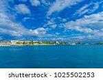 isla mujeres  mexico  january... | Shutterstock . vector #1025502253