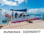 isla mujeres  mexico  january...   Shutterstock . vector #1025503477