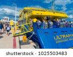 isla mujeres  mexico  january...   Shutterstock . vector #1025503483