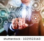 computing integrate industry... | Shutterstock . vector #1025523163