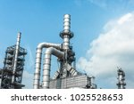 close up industrial zone. plant ... | Shutterstock . vector #1025528653