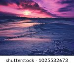 bright and colorful winter... | Shutterstock . vector #1025532673