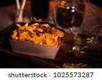 fries food photo. street food.... | Shutterstock . vector #1025573287
