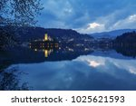 view of famous island and...   Shutterstock . vector #1025621593