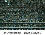 feet walking over the carpet... | Shutterstock . vector #1025628253