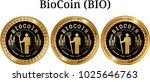 set of physical golden coin... | Shutterstock .eps vector #1025646763