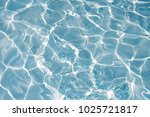 texture of water in swimming... | Shutterstock . vector #1025721817