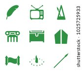antique icons. set of 9...   Shutterstock .eps vector #1025725933