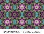 round ornament pattern on a... | Shutterstock . vector #1025726533