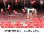 digital illustration of control ... | Shutterstock . vector #102576347