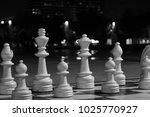 chessmen against the background ...   Shutterstock . vector #1025770927