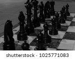 chessmen against the background ...   Shutterstock . vector #1025771083
