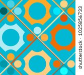 colorful mosaic background with ... | Shutterstock .eps vector #1025856733