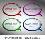 original stickers. vector | Shutterstock .eps vector #102586013