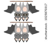 bat set vector illustration | Shutterstock .eps vector #1025870317