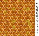 realistic honeycomb...   Shutterstock .eps vector #1025876017