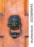 detail of the vintage door... | Shutterstock . vector #1025898493
