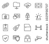 flat vector icon set   link... | Shutterstock .eps vector #1025930737